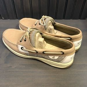 Sperry Bluefish 2 Eye Linen/Oat Boat Shoes